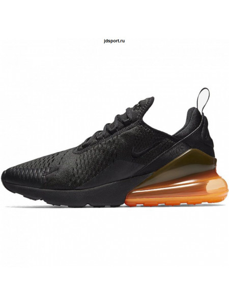 Nike Air Max 270 (Black/Total Orange)