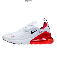 Nike Air Max 270  White/ University Red
