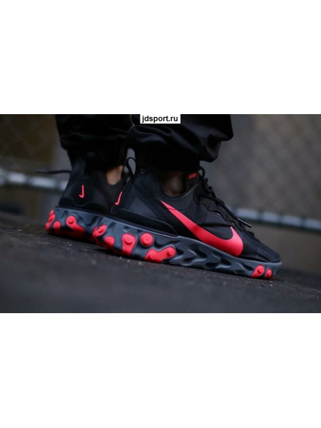 Кроссовки Nike React Element 87 Black/Red