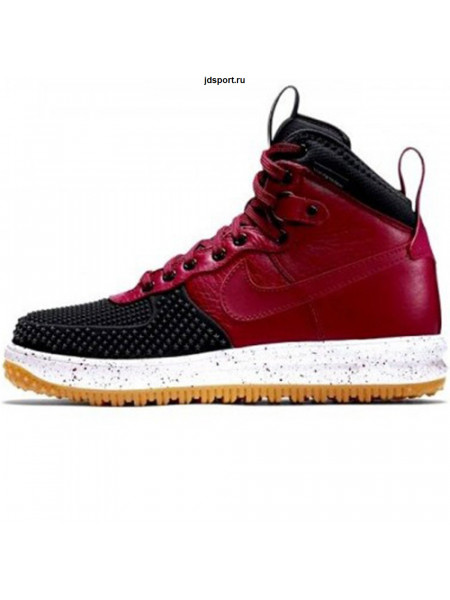 Nike Lunar Force 1 Duckboot (Red/Black)