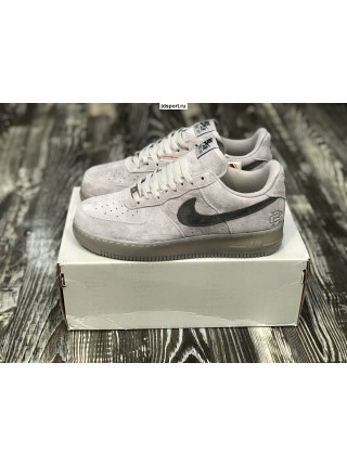 Nike Air Force 1 Low Grey замша