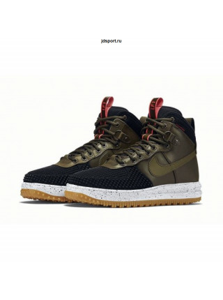 Nike Lunar Force 1 Duckboot (Olive/Black)