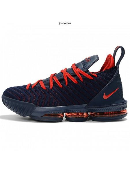 Nike Lebron 16 (Blue/University/Red)