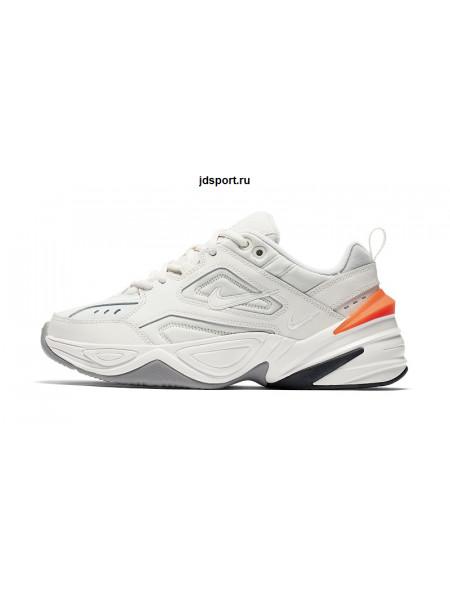 NIKE M2K TEKNO White & Orange  (36-40)
