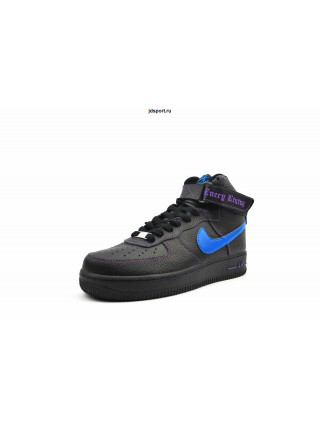 Nike Air Force 1 High (black/Blue)