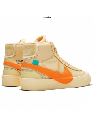 Off White x Nike Blazer MID Spooky Orange