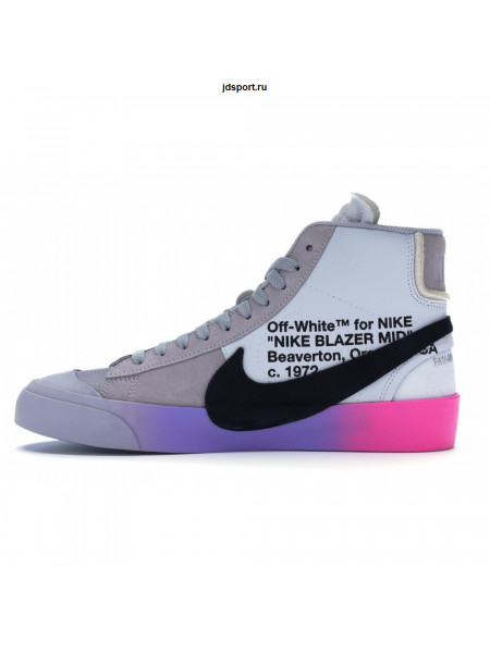 Off White x Nike Blazer MID Grey SerenaQueen