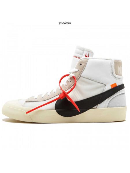 Off White x Nike Blazer Mid White