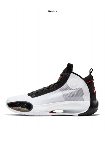 Nike Air Jordan 34 Bred White/Black-Red