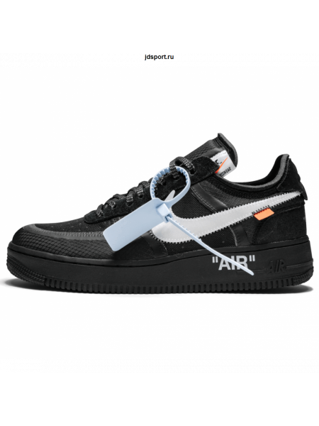 NIKE AIR FORCE 1 X OFF-WHITE Black/White