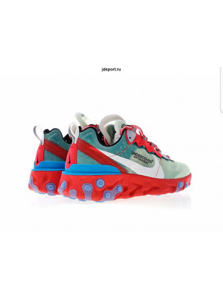Кроссовки Nike React Element 87 Grey/Red/White