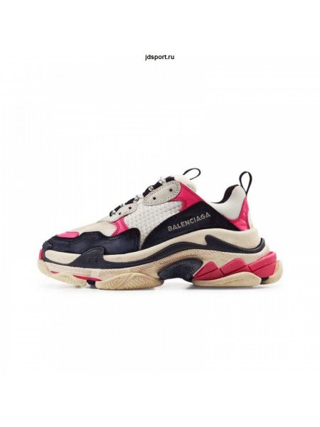 Balenciaga Triple-S White/Black/Pink