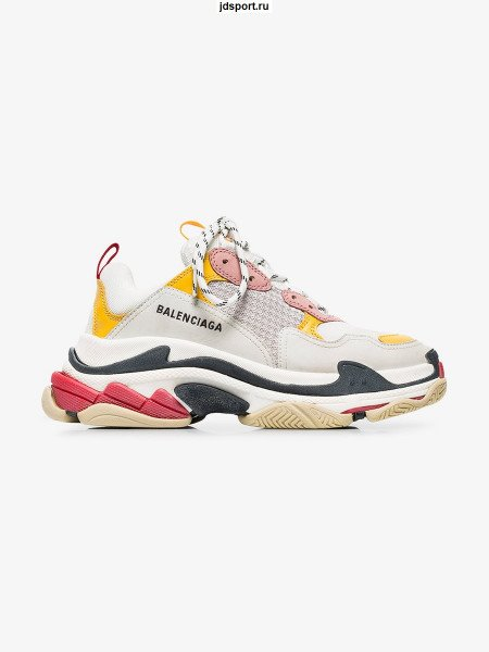 Balenciaga Triple S Pink Yellow White