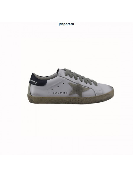 Мужские кеды Golden Goose White-Navy