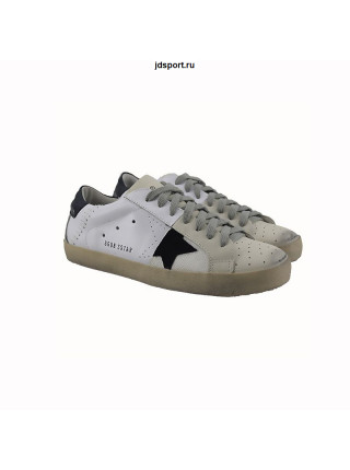 Мужские кеды Golden Goose White-Black