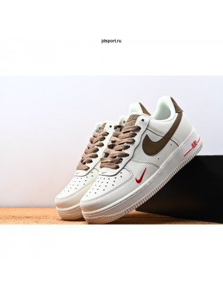 Nike Air Force 1 Low White-Brown