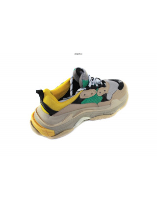 BALENCIAGA TRIPLE S Brown/Green/Yellow унисекс