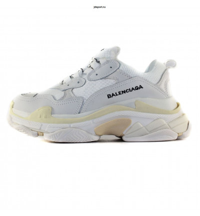 BALENCIAGA TRIPLE S White/Grey