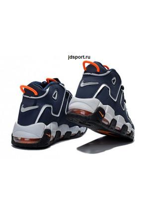 Nike Air More Uptempo (Blue/Orange)