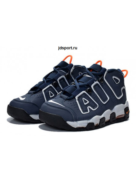 Nike Air More Uptempo (Blue/Orange)
