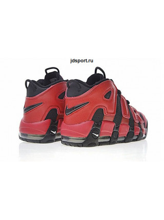 Nike Air More Uptempo QS (Black/Red)