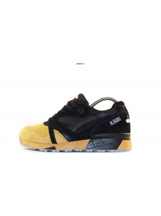 КРОССОВКИ Diadora N9000 BLACK WITH YELLOW
