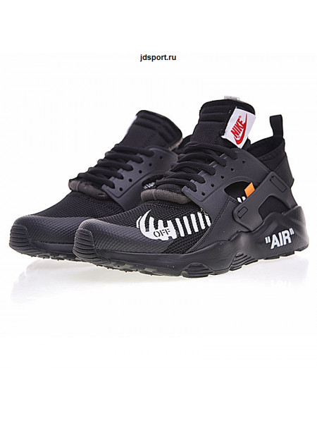 OFF-WHITE x Nike Air Huarache Ultra Black