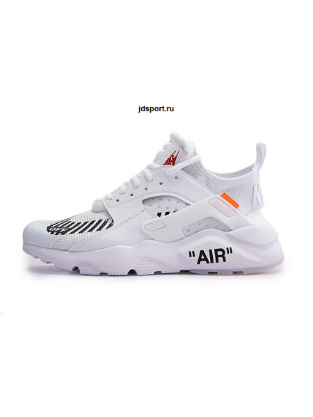 OFF-WHITE x Nike Air Huarache Ultra White