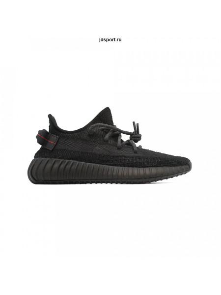 Кроссовки Adidas YEEZY Boost 350 Reflective черные