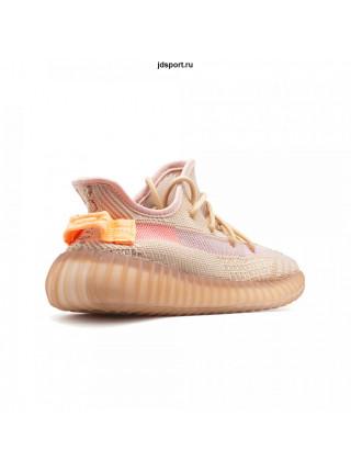 Кроссовки Adidas YEEZY Boost 350 V2 CLAY оранжевые