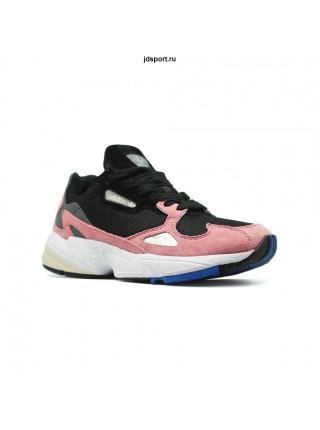 Кроссовки ADIDAS FALCON черные, розовые