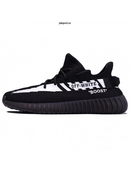 Off White x Adidas Yeezy Boost 350 V2 Black/White (41-45)
