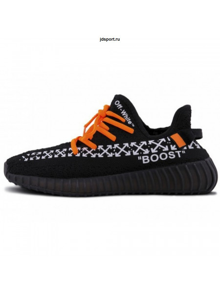 "Off White x Adidas Yeezy Boost 350 V2 ""Black"" (41-45)"
