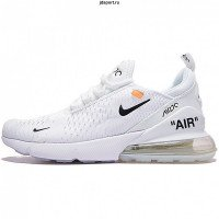Кроссовки Off White x Nike Air Max 270 (White)
