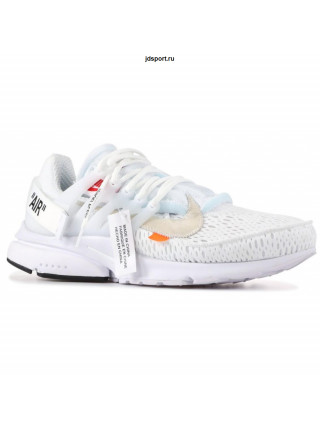 Nike Air Presto Black X Off White Белые