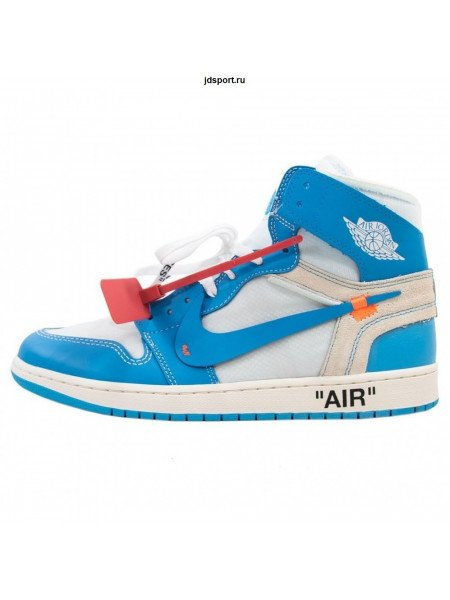 Air Jordan 1 x OFF-WHITE NRG Blue/White