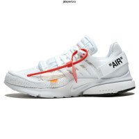 Nike Air Presto Black X Off White Белые