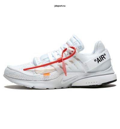 Nike Air Presto Black X Off White Белые купить в Москве