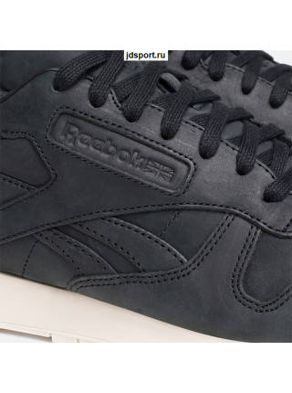 Reebok Classic Leather Black (Натуральная кожа)