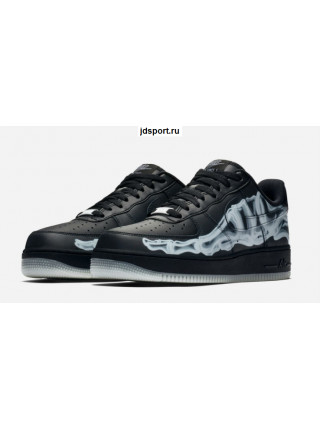Nike Air Force 1 Low Sneakers Black Skeleton