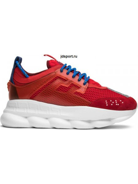 Versace Red Chain Reaction Trainers (36-40)