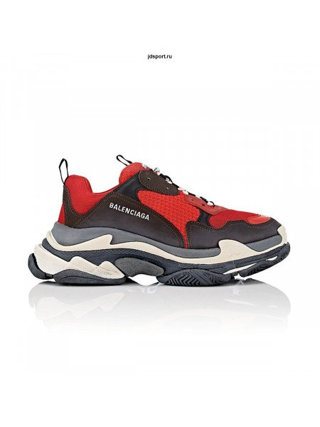 Balenciaga Triple-S White/Black/Red